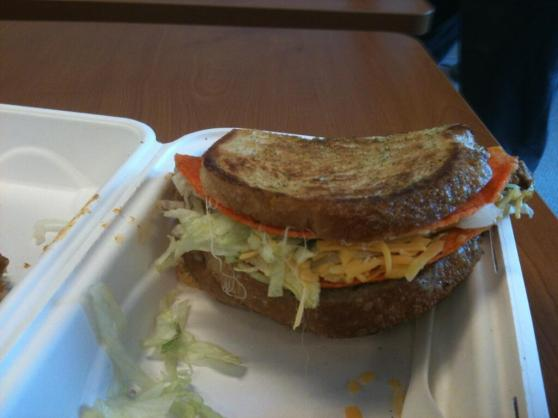 One Mission grilled cheese + one Taco Loco = the Locomission!