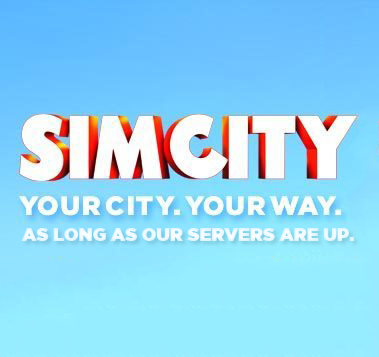 EA should have added a bit of a caveat to SimCity's tagline -- just to ensure accuracy.