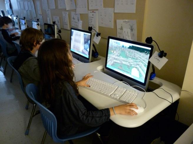 Teaching MinecraftEdu education