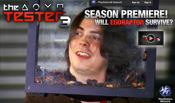 The Tester, Egoraptor Teaser