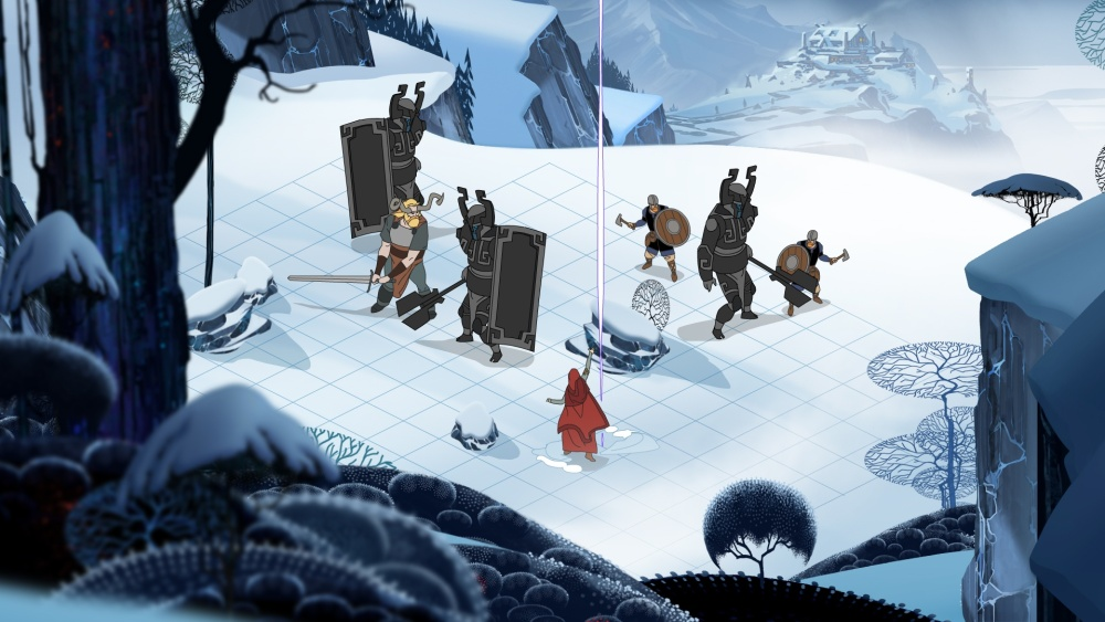 Everything in Banner Saga, from combat to decision-making, was a deliberate process.