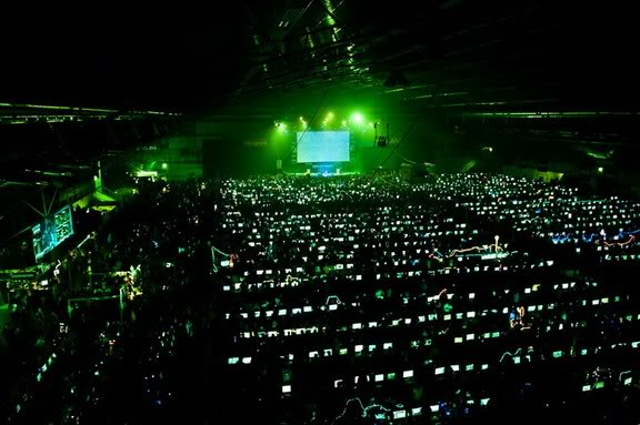 The biggest LAN party