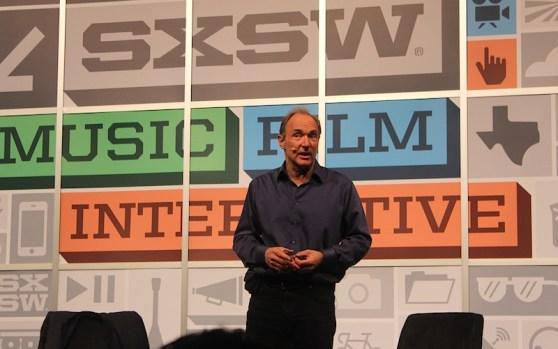 Tim Berners-Lee speaks at SXSW 2013 on Open Web Platform