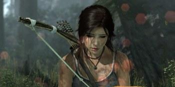 Tomb Raider: What Lara's hair looks like with TressFX