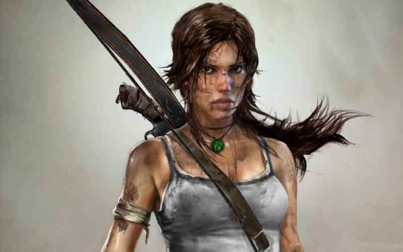 Lara Croft in 2013 Tomb Raider.