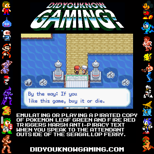 Nuggets Of Gaming Lore, Now In Helpful Infographic Form