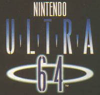 The original logo for Nintendo's 64-bit  monster