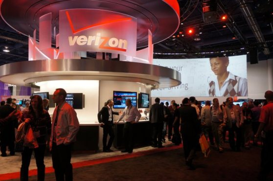 Verizon CES 2013 booth