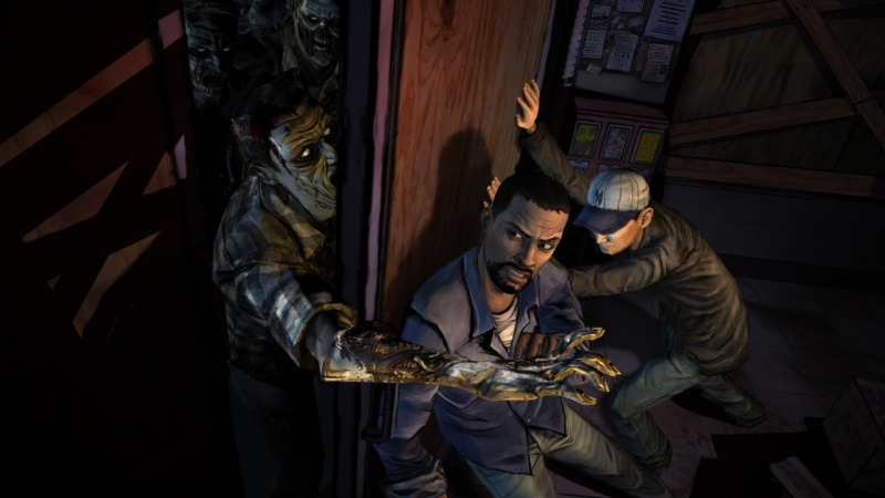 Telltale's The Walking Dead adventure game.