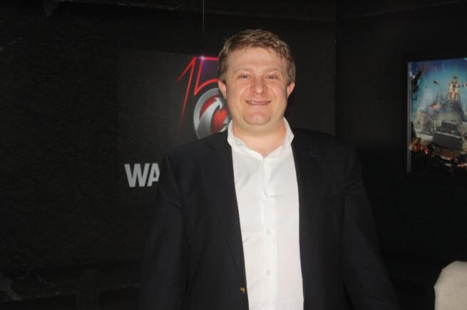 Wargaming.net CEO Victor Kislyi