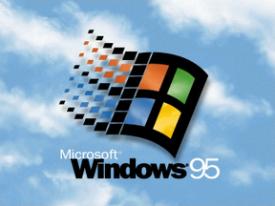The Windows 95 logo