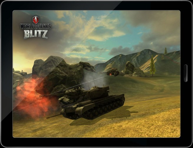 Mobile World of Tanks iOS Android Blitz
