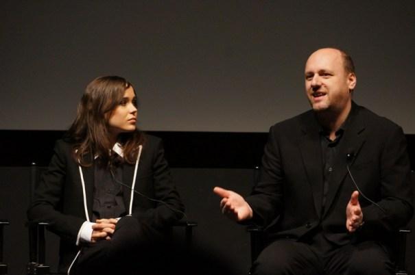Ellen Page and David Cage