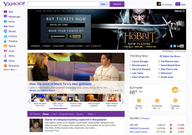 Yahoo rolls out new display ad units for news feeds & video ...