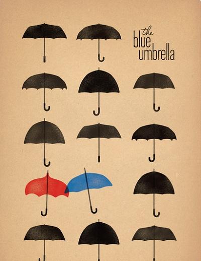 blue umbrella 3