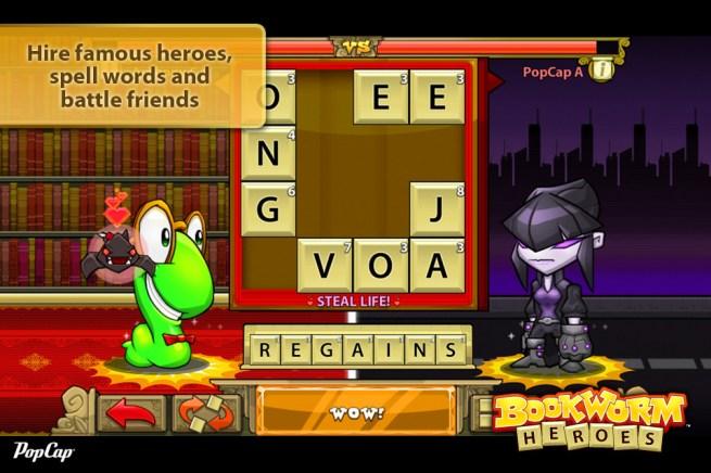 PopCap Releases Bookworm Heroes For IOS