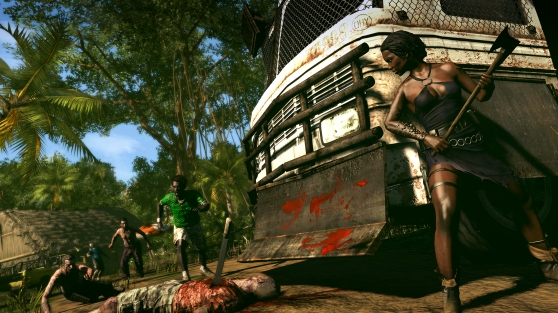 Dead Island: Riptide bus