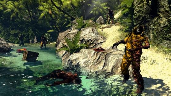 Dead Island: Riptide river