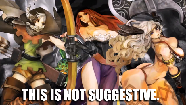 ROUNDTABLE'D! Game characters objectify Dragon's Crown's ...