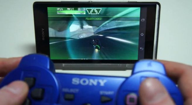Sony Xperia Android bluetooth controller