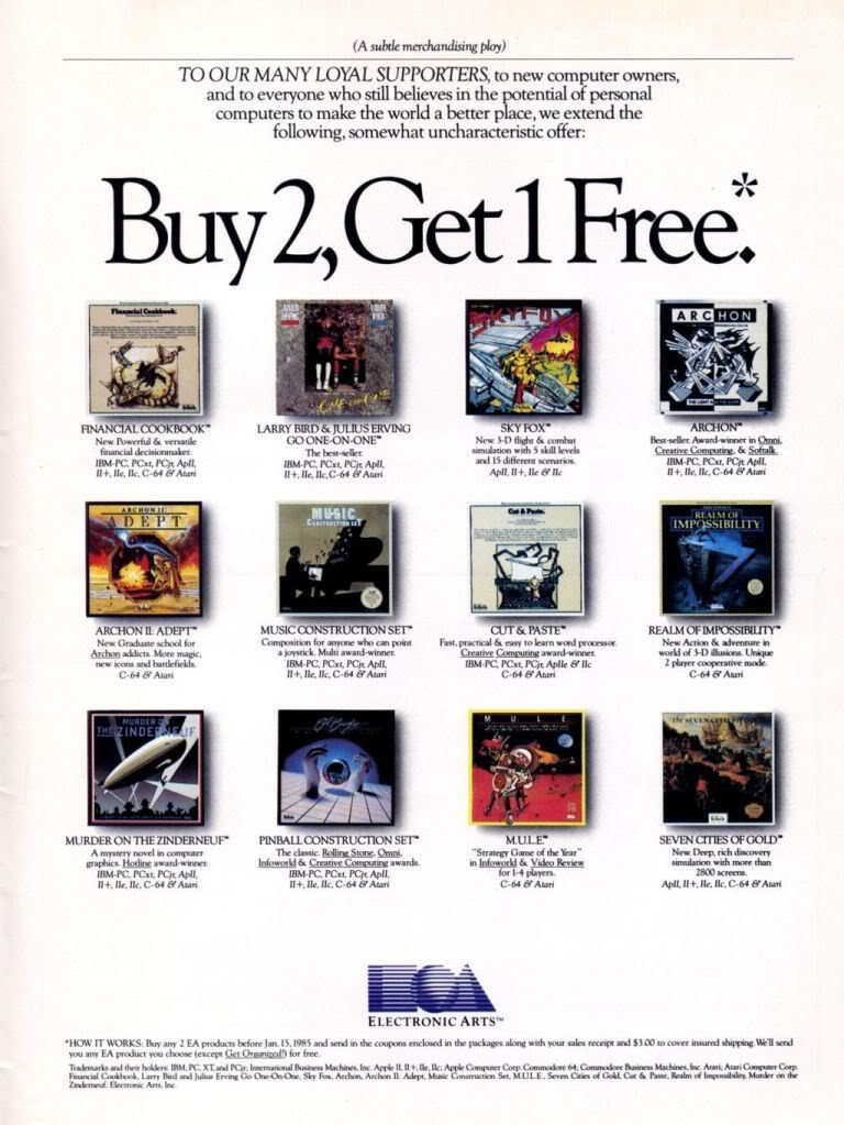 EA was a different kind of company back then