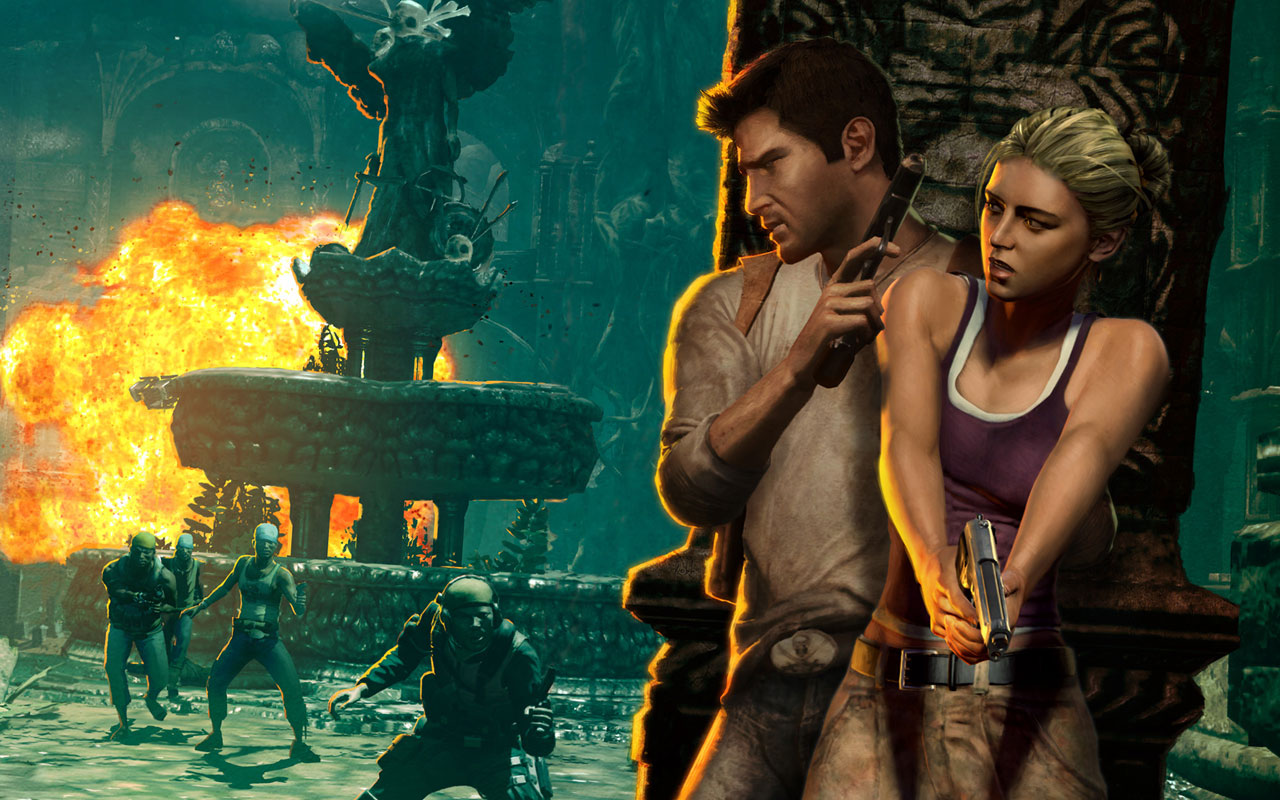 It's not all hot and cold, it's not all cumulating to the final  consummation of the sexual conquest. There's a moment in Uncharted 2 ...