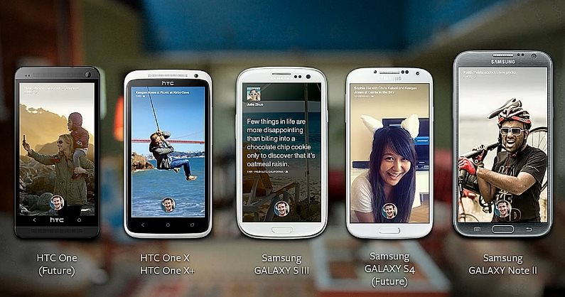 Facebook Home on Android Phones