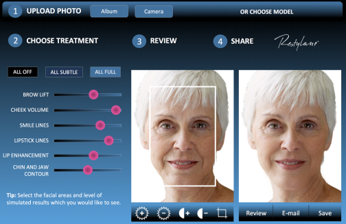 Facial recognition -- medicine