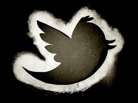 Twitter bird outline