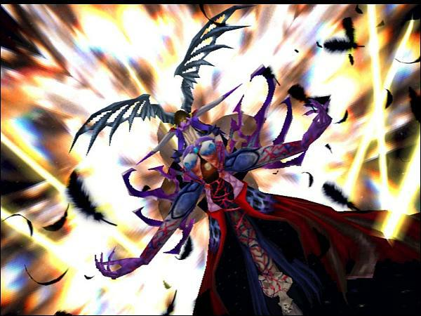 The end boss of Final Fantasy 8 is a horned freak of nature with breasts. I wonder how they thought of that one.