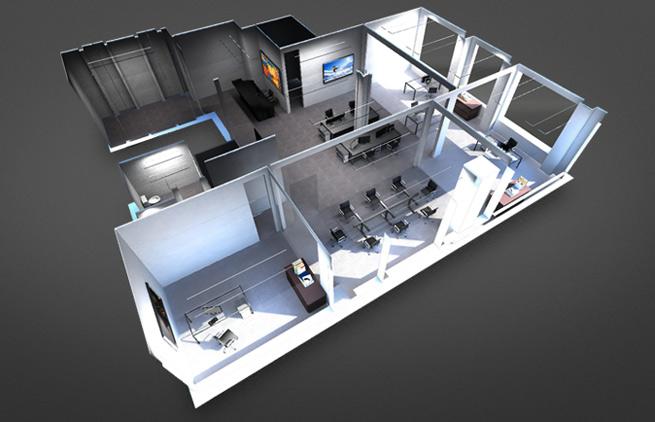 Floored-office
