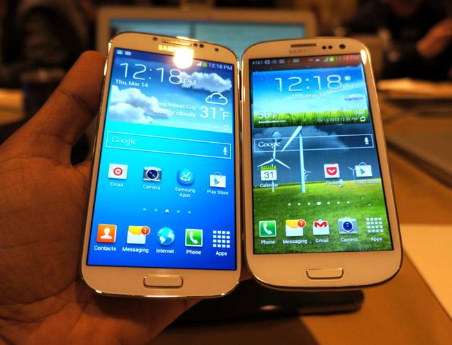 Samsung's Galaxy S4 vs Galaxy S III