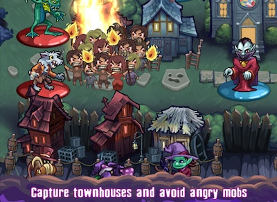 Haunted Hollow: angry mob