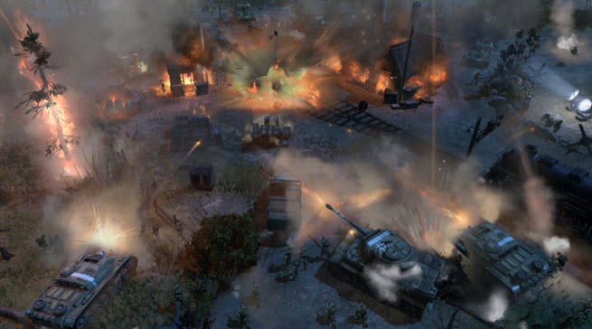 Company Of Heroes 2 Features A Cool Theater Of War Co Op Mode With