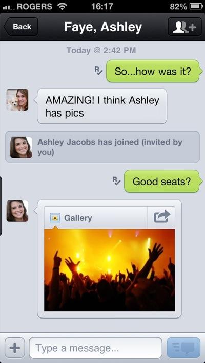 kik messenger group chat