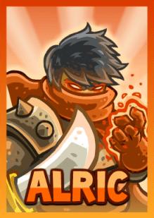 Kingdom Rush Frontiers - Alric (hero)