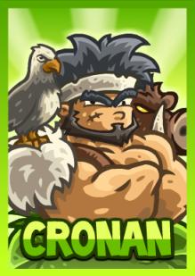 Kingdom Rush Frontiers - Cronan (hero)