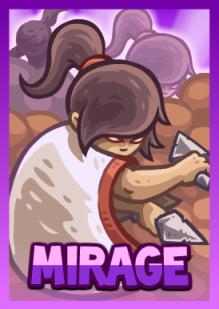 Kingdom Rush Frontiers - Mirage (hero)