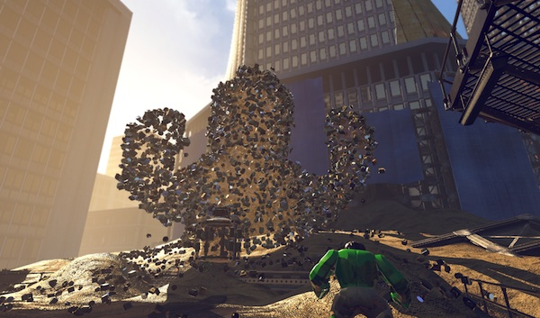 Lego Marvel Super Heroes: Sandman battle 2