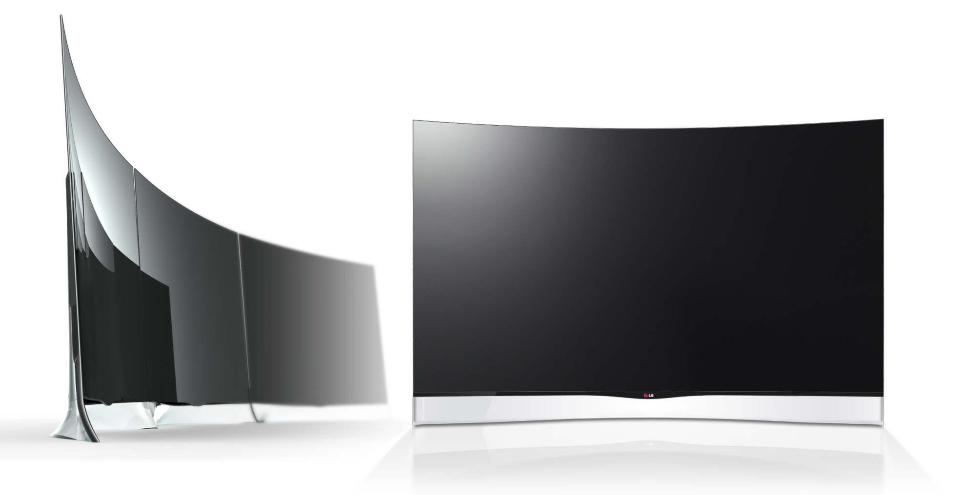 lg starts taking pre orders for world 39 s first curved oled tv to ship venturebeat gadgets. Black Bedroom Furniture Sets. Home Design Ideas