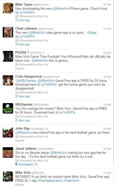 Twitter GameTime
