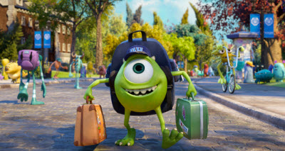 Mike, lead character of Monster's University