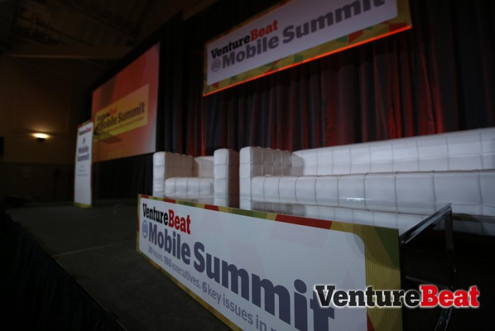 Mobile Summit 2013 stage