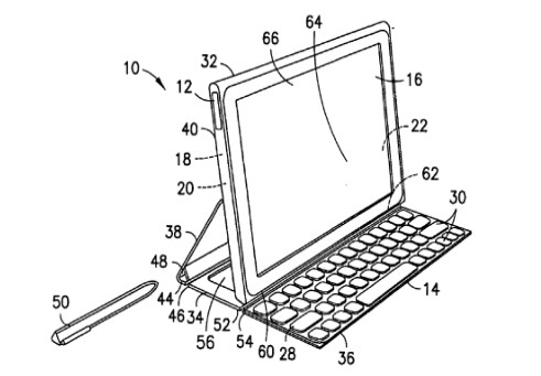 Nokia tablet patent