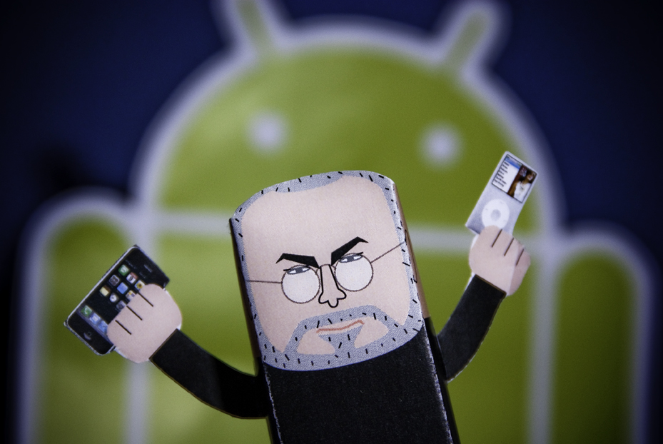 iphone android steve jobs