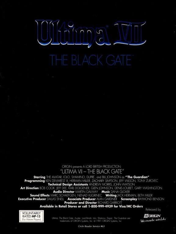 Black Gate ad