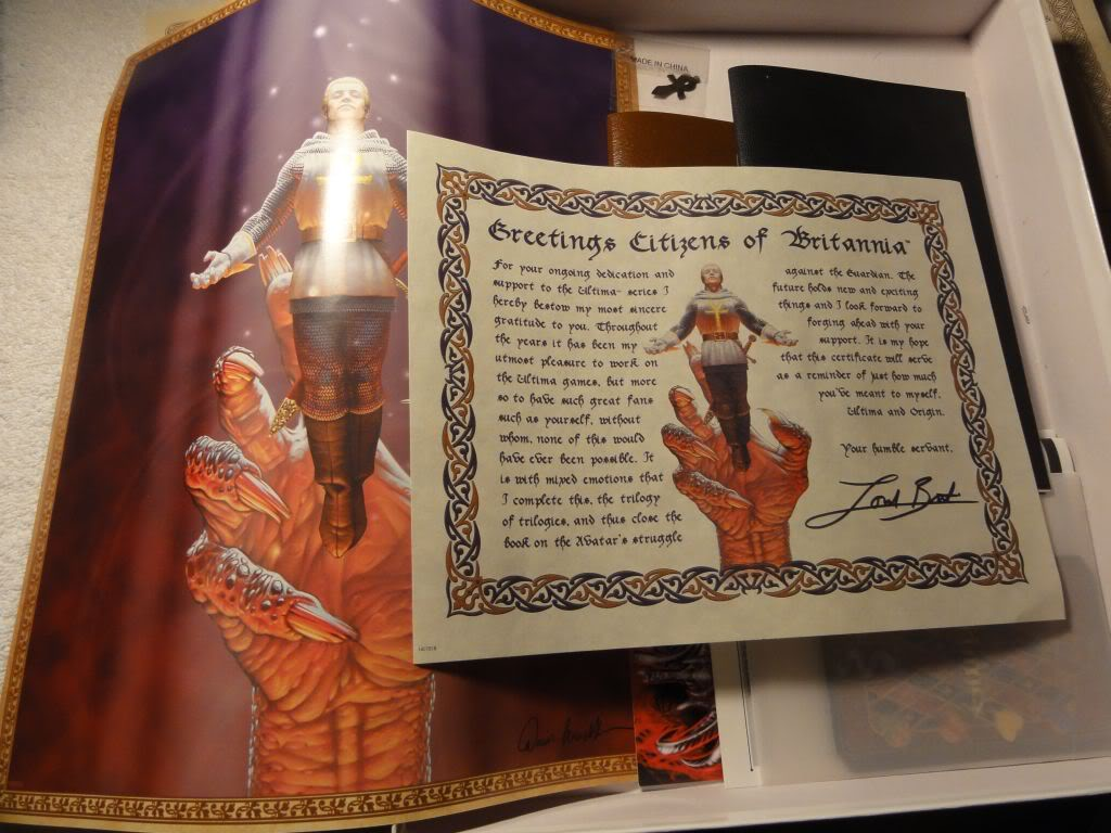 The Dragon Box edition was loaded with Ultima swag