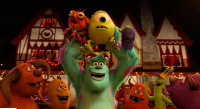 pixar monster's university house