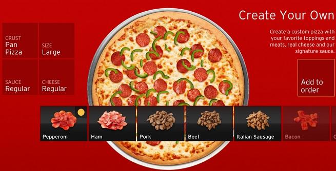 pizza hut xbox live