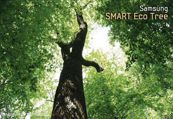 samsung eco tree prank